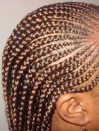Micro braid hairstyles Battersea